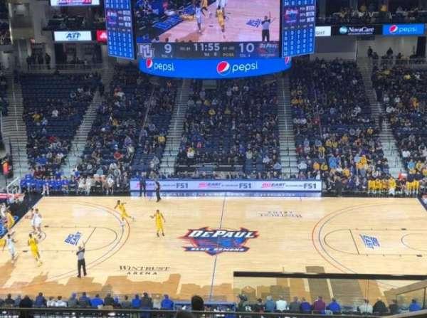 Wintrust Arena, secção: 225, fila: K, lugar: 4