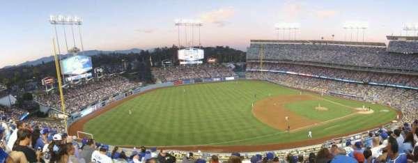 Dodger Stadium, secção: 31RS, fila: H, lugar: 9
