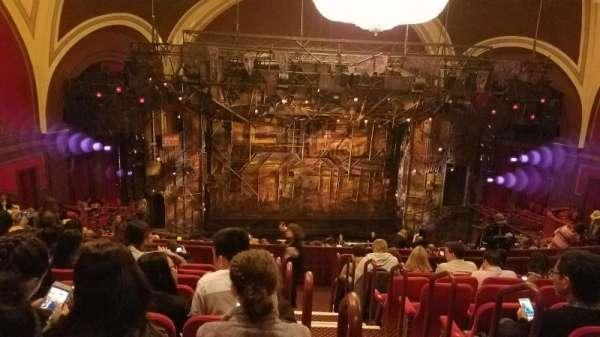 Broadway Theatre - 53rd Street, secção: Rear Mezzanine LC, fila: J, lugar: 102
