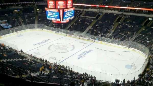 Bridgestone Arena, secção: 329, fila: G, lugar: 6