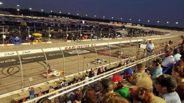 Darlington Raceway, secção: Tyler Tower P, fila: 3, lugar: 20