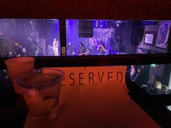 Whisky A Go Go, secção: Reserved, fila: Rail