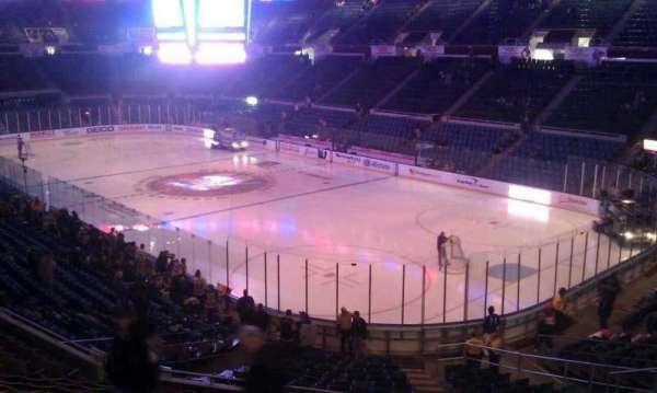 Old Nassau Veterans Memorial Coliseum, secção: 334, fila: A, lugar: 1