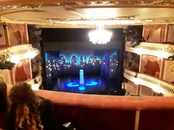 Criterion Theatre, secção: Upper Circle, fila: C, lugar: 20