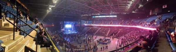 Mohegan Sun Arena, secção: 115, fila: B, lugar: 12