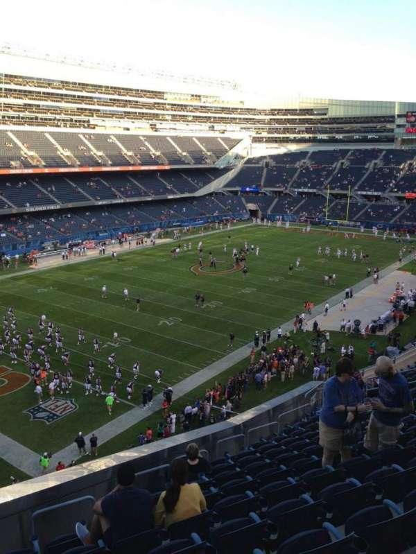 Soldier Field, secção: 344, fila: 13, lugar: 3