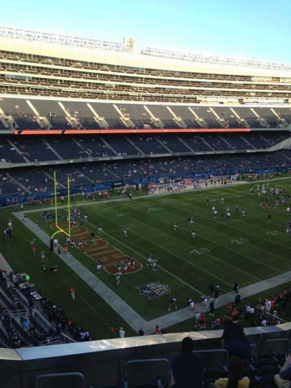 Soldier Field, secção: 344, fila: 13, lugar: 4