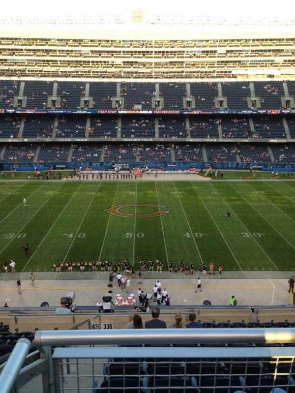 Soldier Field, secção: 336, fila: 13, lugar: 2