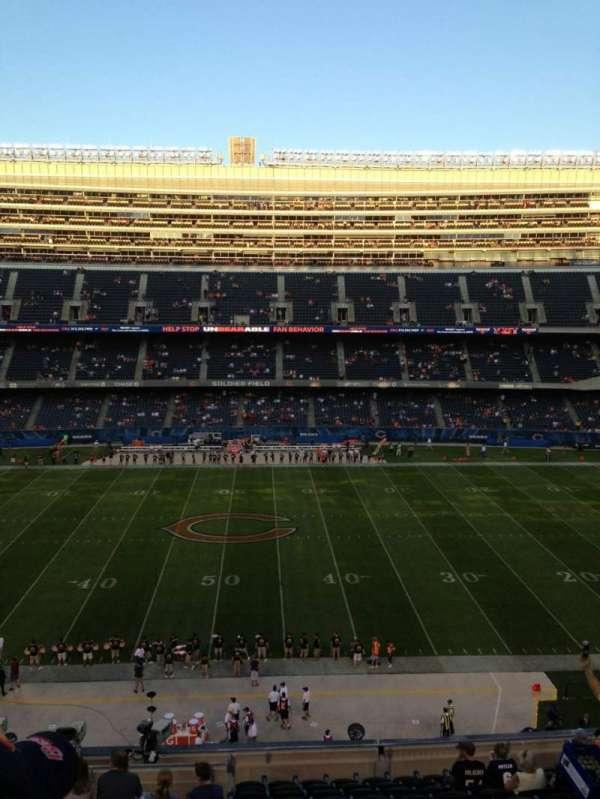Soldier Field, secção: 336, fila: 13, lugar: 3