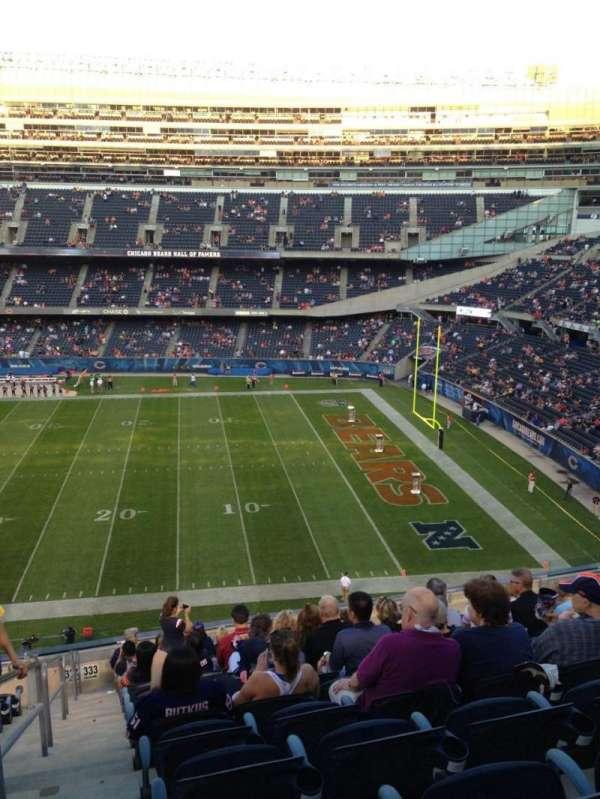 Soldier Field, secção: 333, fila: 14, lugar: 2