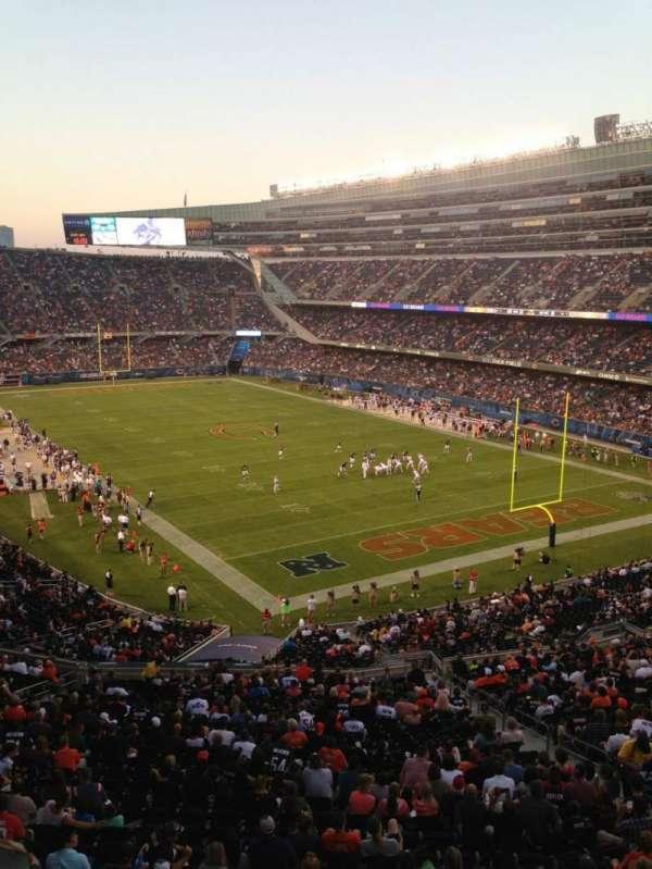 Soldier Field, secção: 326, fila: 6, lugar: 3