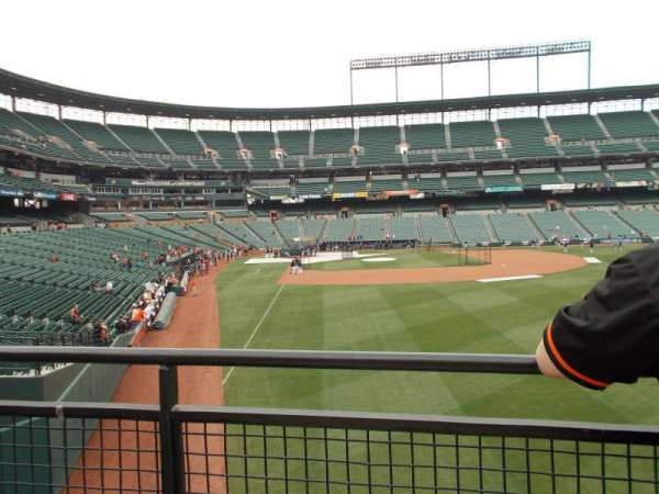 Oriole Park at Camden Yards, secção: Right Field Standing Room Only