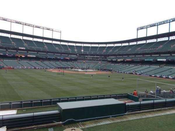 Oriole Park at Camden Yards, secção: Center Field Standing Rm Only