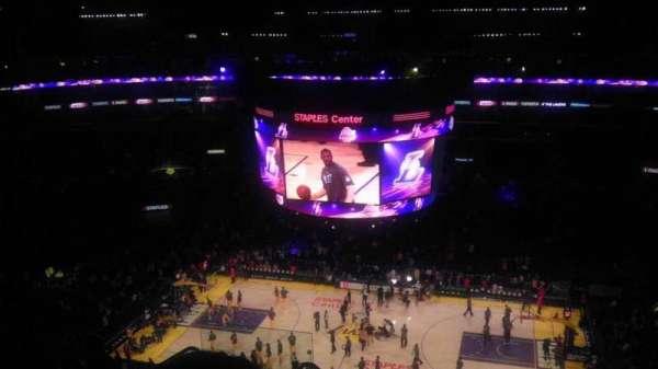 Staples Center, secção: 317, fila: 8, lugar: 10/11