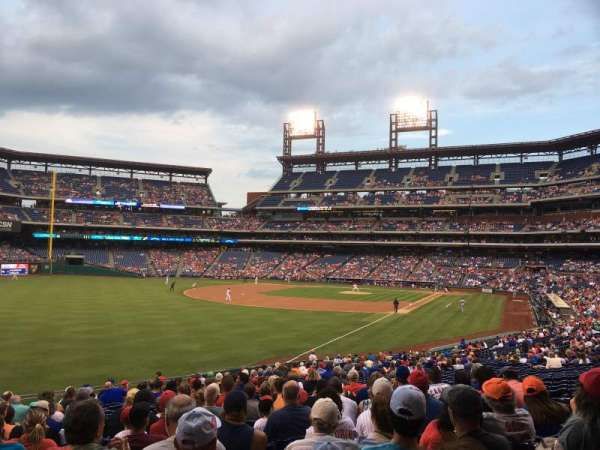 Citizens Bank Park, secção: 139, fila: 34, lugar: 11