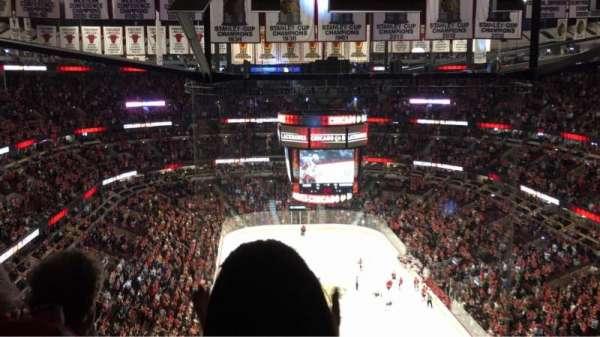 United Center, secção: 310, fila: 16, lugar: 8