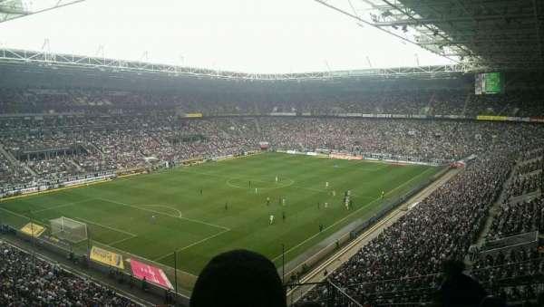 Borussia Park, secção: 6A, fila: 10, lugar: 4