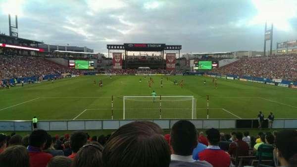Toyota Stadium, secção: 116, fila: 14, lugar: 22
