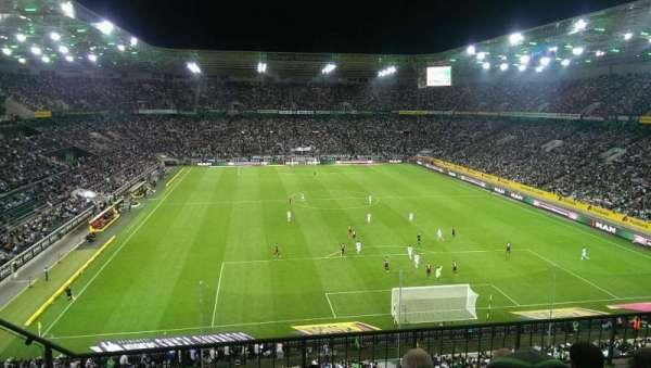 Borussia Park, secção: 3A, fila: 4, lugar: 10