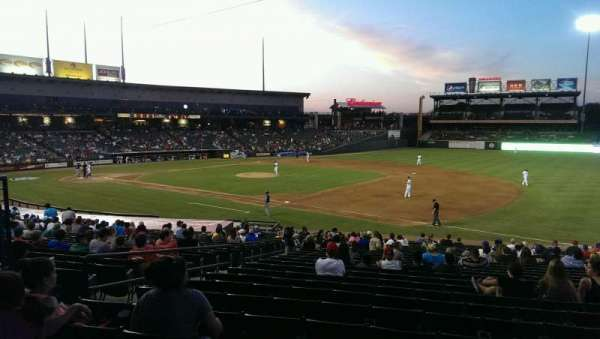 Dell Diamond, secção: 125, fila: 24, lugar: 11