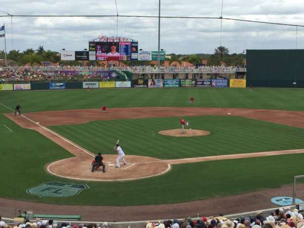 Hammond Stadium at CenturyLink Sports Complex, secção: 207, fila: 7, lugar: 7