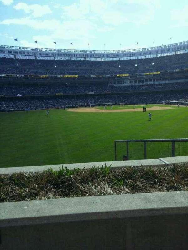 Yankee Stadium, secção: 237, fila: 1, lugar: 7