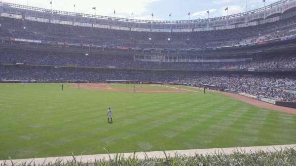 Yankee Stadium, secção: 236, fila: 2, lugar: 8