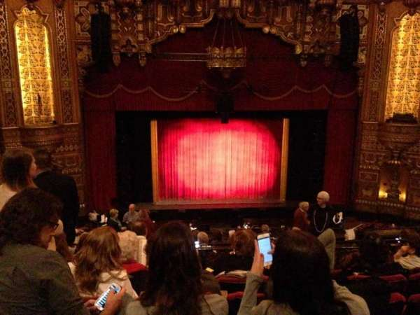 The Fabulous Fox Theatre (St. Louis), secção: Lower Balcony 3, fila: F, lugar: 111