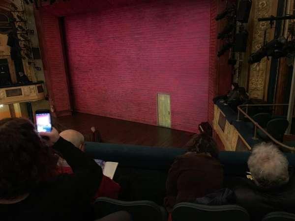 Shubert Theatre, secção: Mezzanine, fila: C Right, lugar: 20