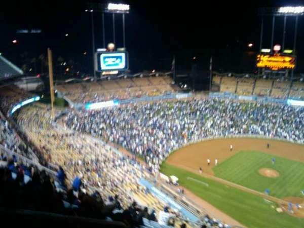 Dodger Stadium, secção: 7TD, fila: o, lugar: 23
