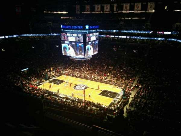 Barclays Center, secção: 205, fila: 9, lugar: 14