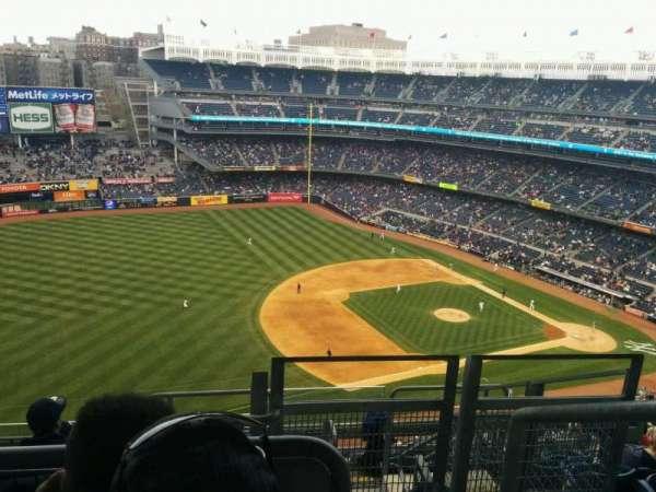 Yankee Stadium, secção: 428, fila: 8, lugar: 1