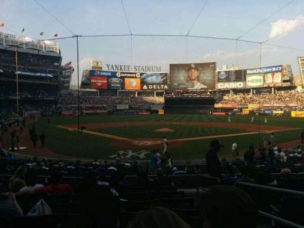 Yankee Stadium, secção: 120a, fila: 20, lugar: 2