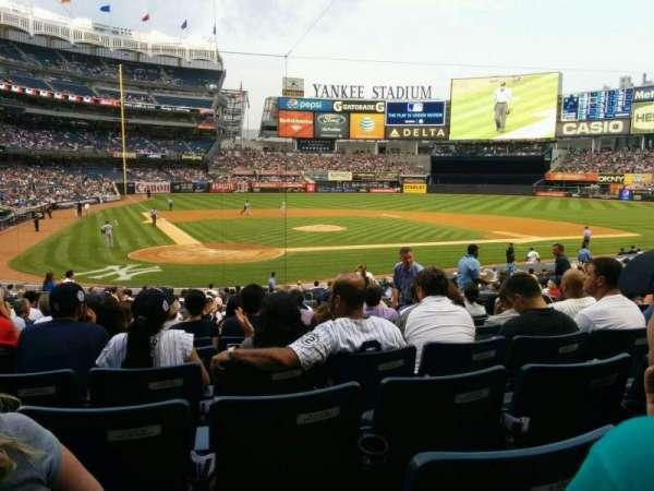 Yankee Stadium, secção: 118, fila: 24, lugar: 5
