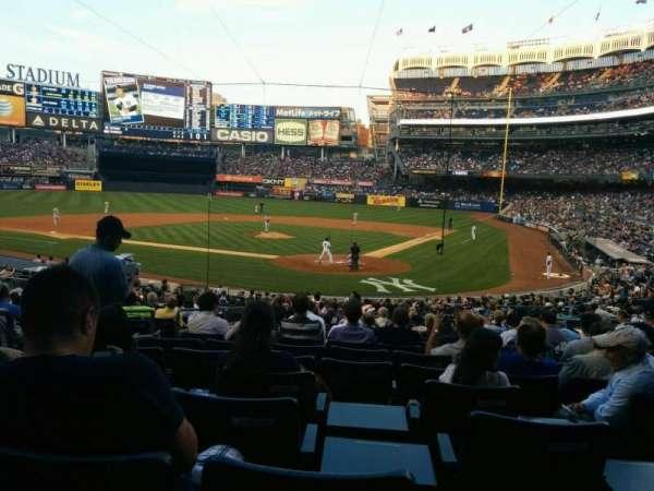 Yankee Stadium, secção: 121a, fila: 26, lugar: 8