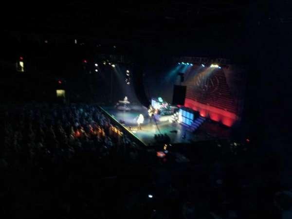 Grossinger Motors Arena, secção: 112, fila: U, lugar: 19