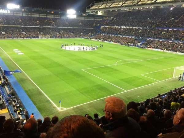 Stamford Bridge, secção: Shed End Upper 7, fila: 12, lugar: 232