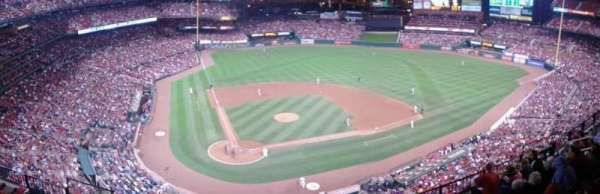 Busch Stadium, secção: 347, fila: wc, lugar: 5