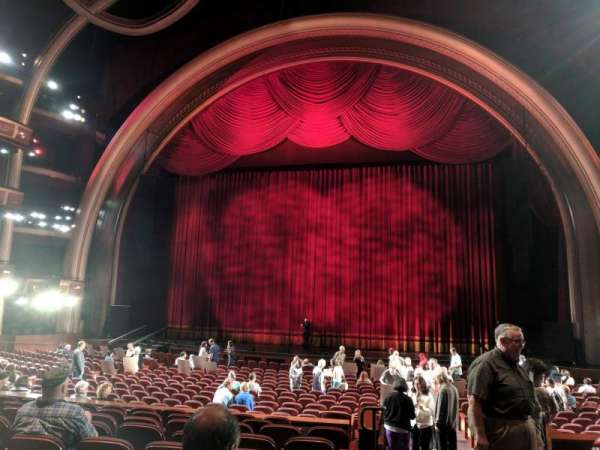 Dolby Theatre, secção: Parterre C, fila: F, lugar: 1
