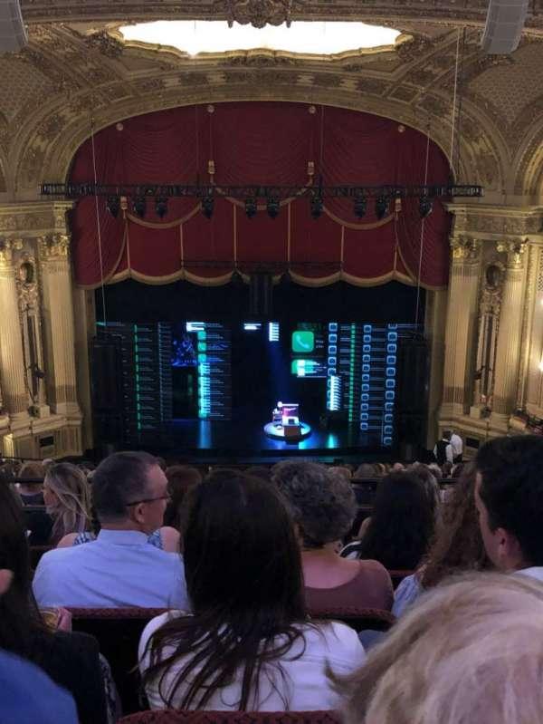 Citizens Bank Opera House, secção: Balcony C, fila: U, lugar: 107