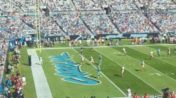 Bank of America Stadium, secção: 349, fila: 13, lugar: 1