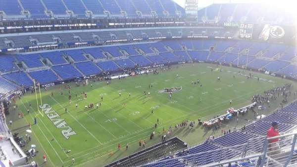 M&T Bank Stadium, secção: 505, fila: 8, lugar: 8