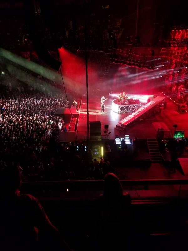 Mohegan Sun Arena, secção: 105, fila: C, lugar: 6