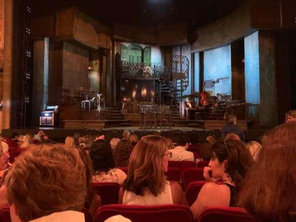 Walter Kerr Theatre, secção: Orchestra C, fila: K, lugar: 107