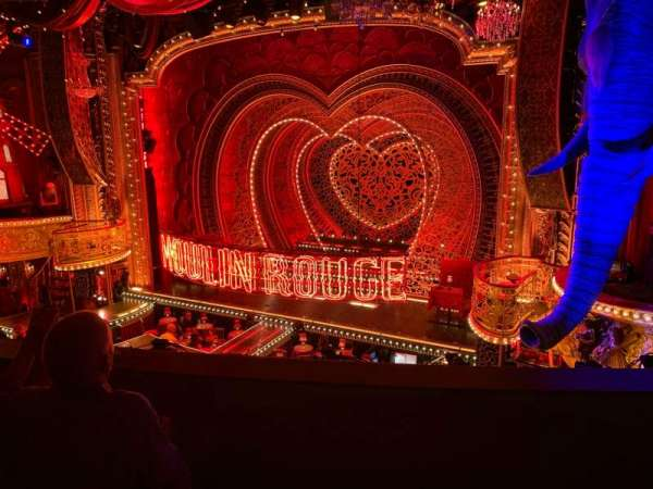 Al Hirschfeld Theatre, secção: Mezzanine R, fila: C, lugar: 10
