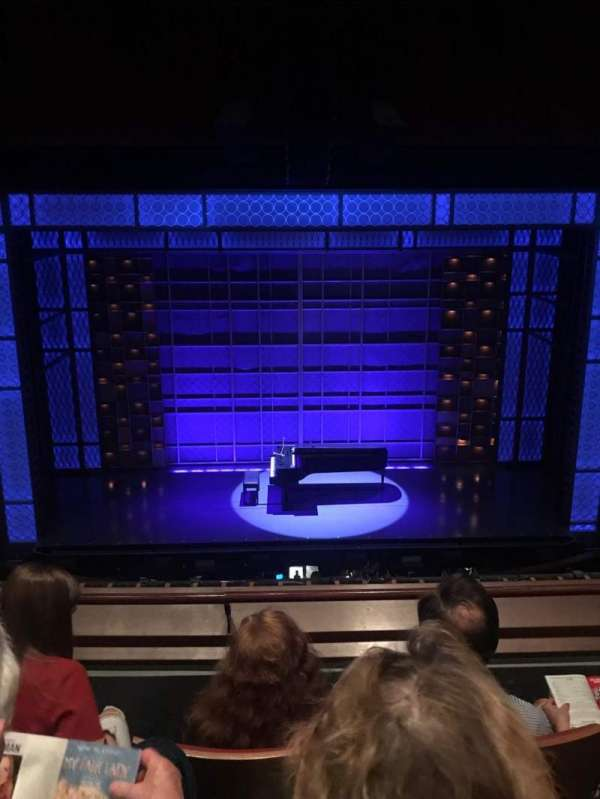 Stephen Sondheim Theatre, secção: Mezz, fila: CC, lugar: 111