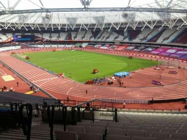 London Stadium, secção: 216, fila: 51, lugar: 175-177