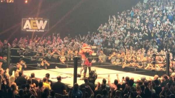 MGM Grand Garden Arena, secção: 7, fila: M, lugar: 6