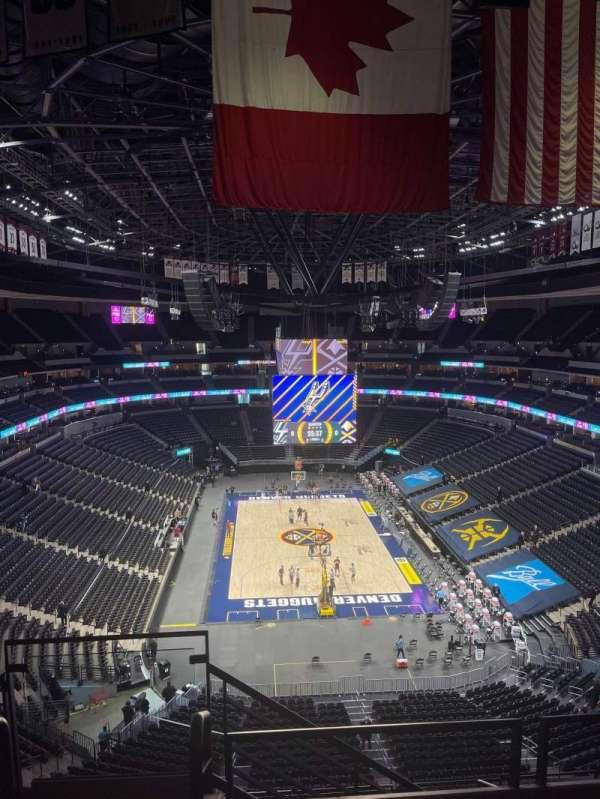 Ball Arena, secção: 322, fila: 8, lugar: 22