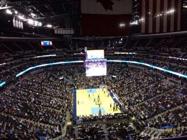 Ball Arena, secção: 324, fila: 12, lugar: 1